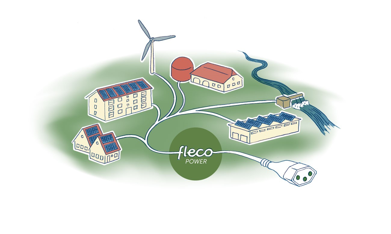 Centrale électrique virtuelle